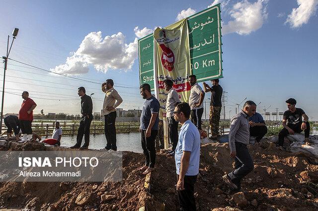 آخرین وضعیت ورودی شهر اهواز