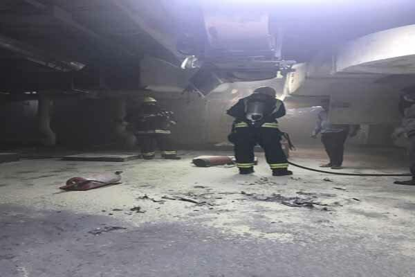 آتش سوزی در یکی از هتلهای مدینه منوره