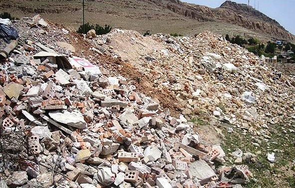 فراوری روزانه 700 تن نخاله ساختمانی در یزد