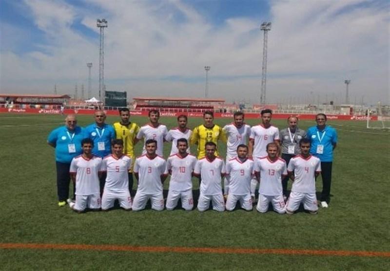 جام جهانی فوتبال هفت نفره، عنوان پنجمی ایران با فزونی مقابل آمریکا