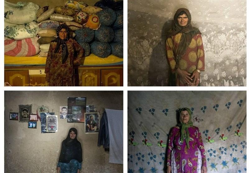 تصاویر چالش عکس پیری دخترها در بیست و چند سالگی!
