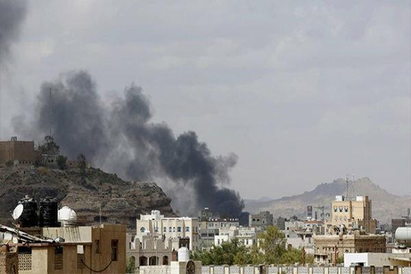 بمباران مناطق مسکونی صعده یمن توسط جنگنده های سعودی