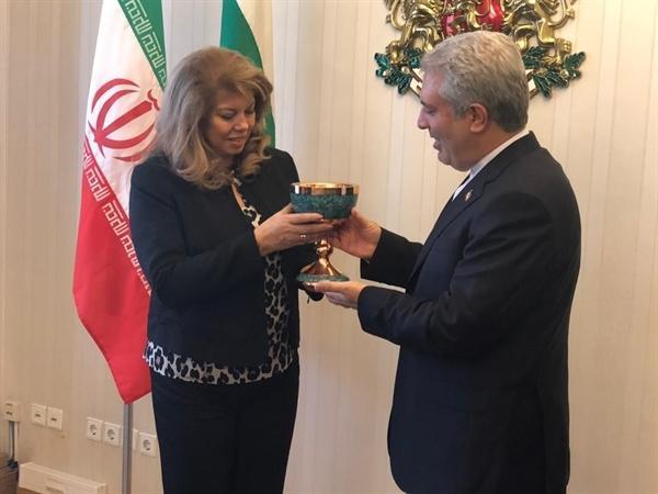 دیدار مونسان با معاون اول رئیس جمهوری بلغارستان