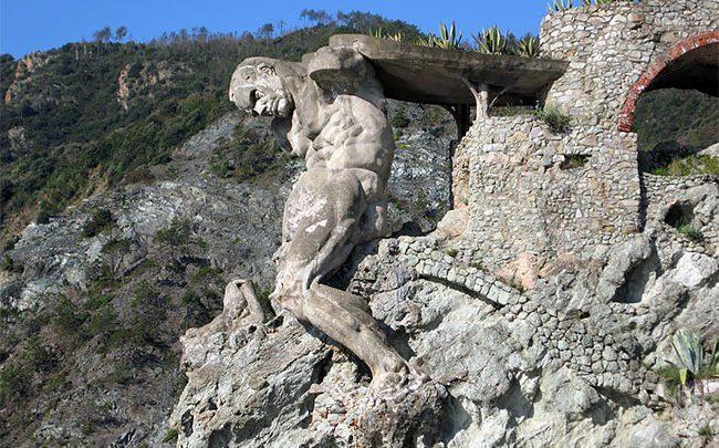 غول نپتون در مونته روسو آل ماره ، تصاویر