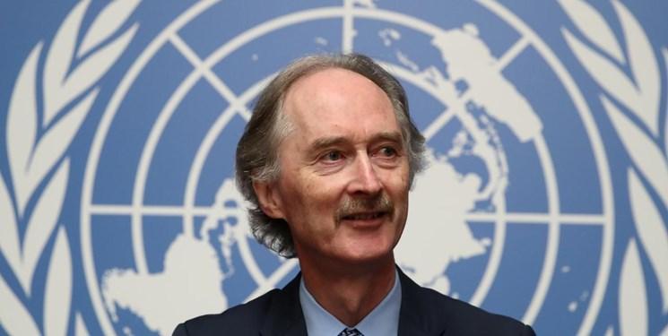 پدرسون: کمیته قانون اساسی بحران سوریه را حل نمی کند