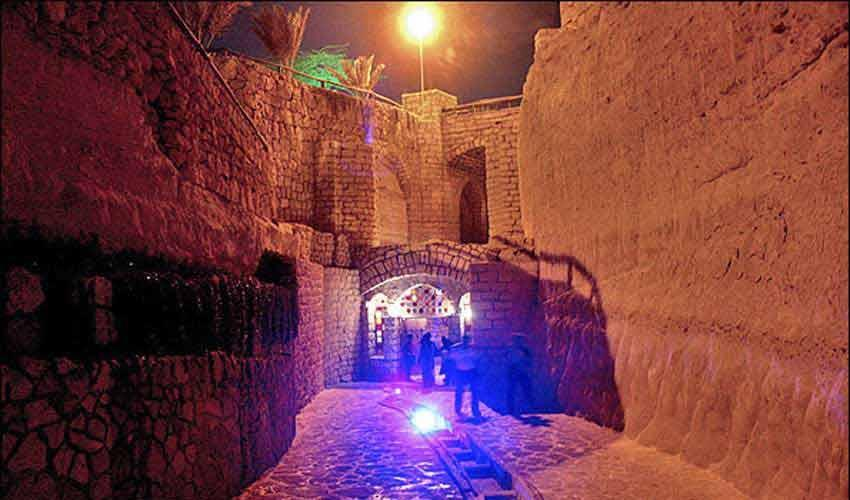 کاریز، شهر زیر زمینی کیش