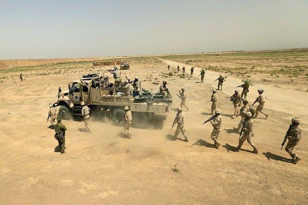 ارتش عراق مواضع عناصر داعش را هدف قرار داد، بازداشت 5 عنصر تکفیری