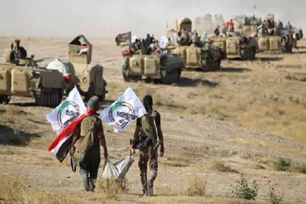 حشد شعبی یورش تروریست های داعش به جنوب سامراء را ناکام گذاشت