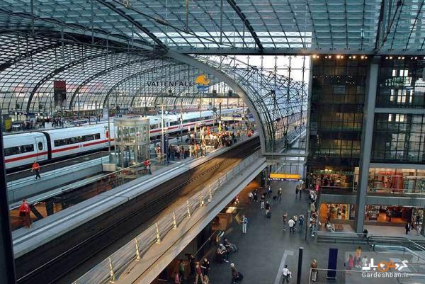 ایستگاه قطار هاپ بانهوف، ایستگاه اصلی و مدرن برلین، عکس