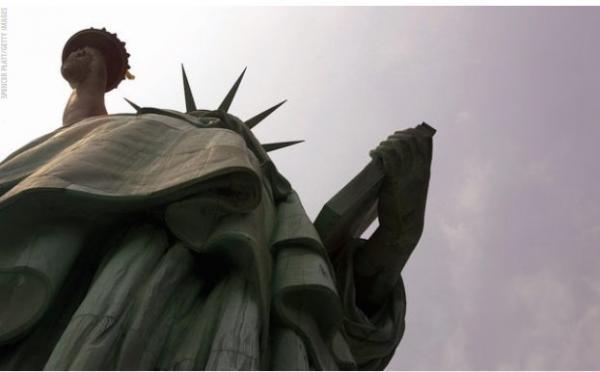 دومین مجسمه آزادی در راه آمریکا